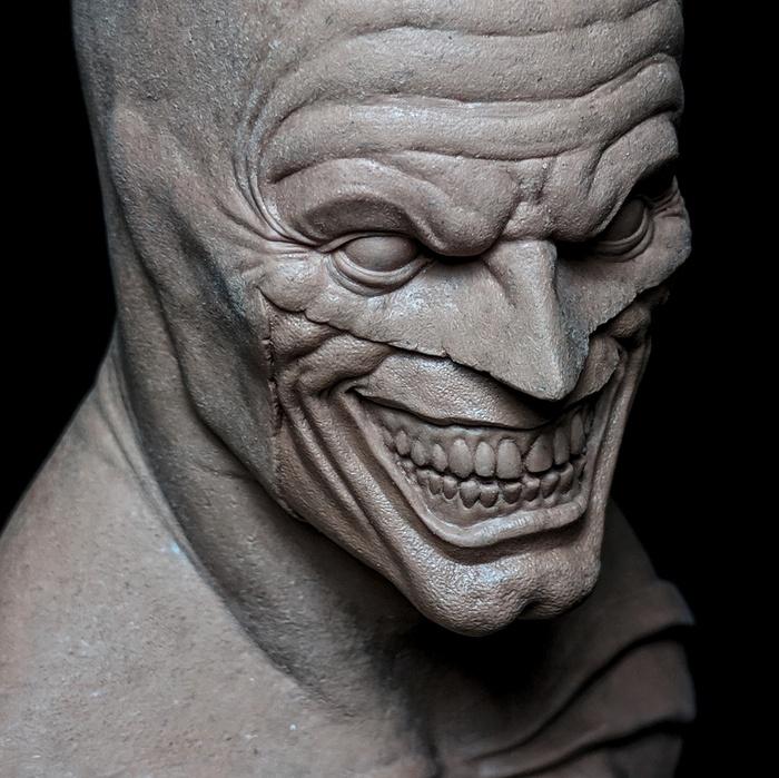 Бэтмен-Джокер из пластилина Бэтмен, Джокер, Пластилин, Творчество, Скульптура, Пятница, Пятничный тег моё, DC Comics, Длиннопост