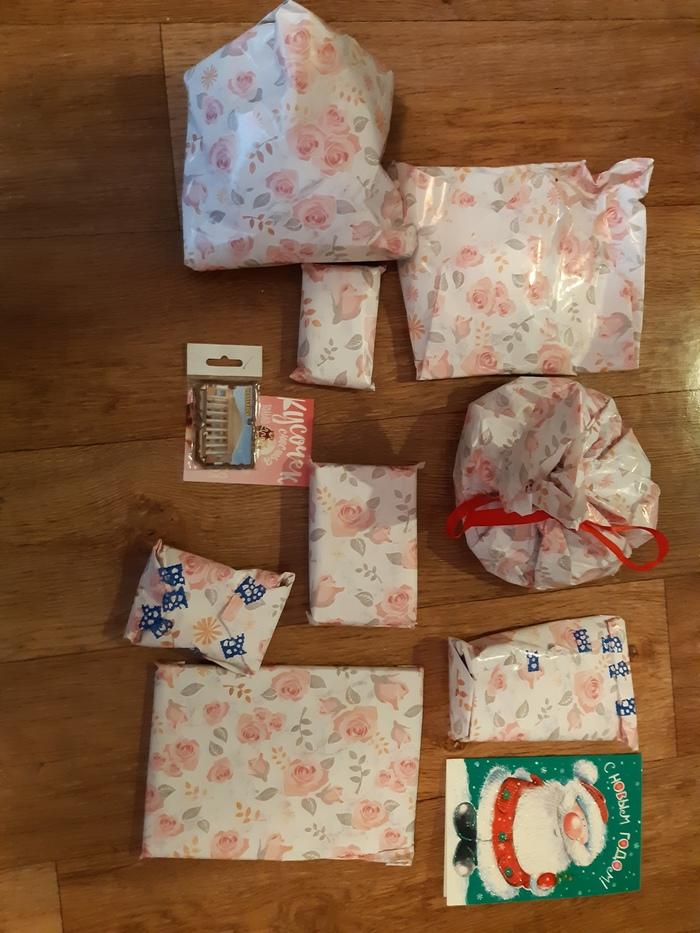 Мой самый душевный Дед Мороз на свете! Отчет по обмену подарками, Тайный Санта, Длиннопост, Обмен подарками