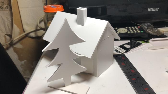 Мелкие елки на работе Мелкая, Ёлка