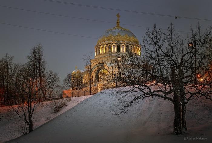 Кронштадт Кронштадт, Зима, Длиннопост, Красота