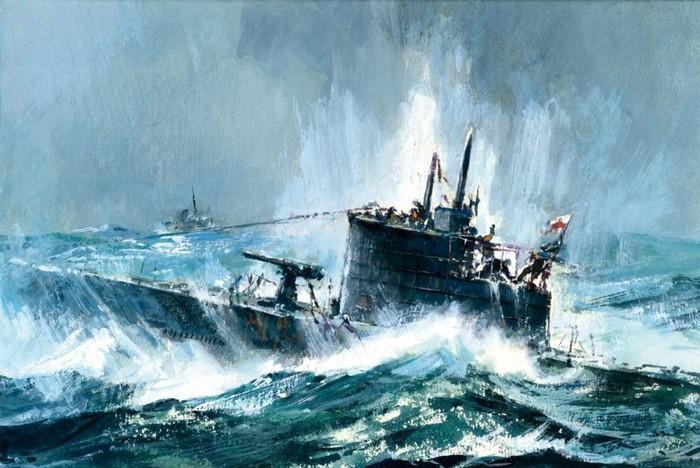 Польская подлодка «Jastrzab», потопленная союзниками Польша, Подводная лодка, Вторая мировая война, История, Катастрофа, Флот, Длиннопост