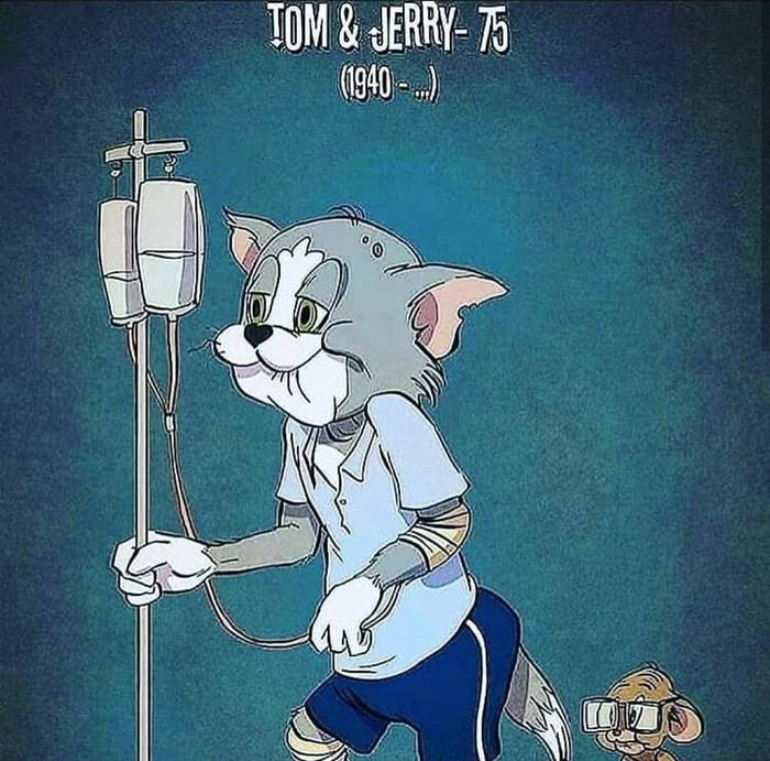 Время... Мультфильмы, Том и Джерри, Старость, Гуфи, Даффи Дак, Микки Маус, Минни Маус, Длиннопост