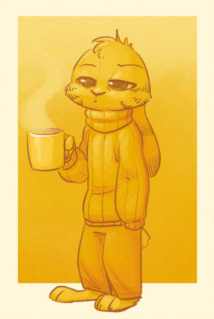 Зимнее утро Foxefuel, Джек Сэвидж, Зверополис