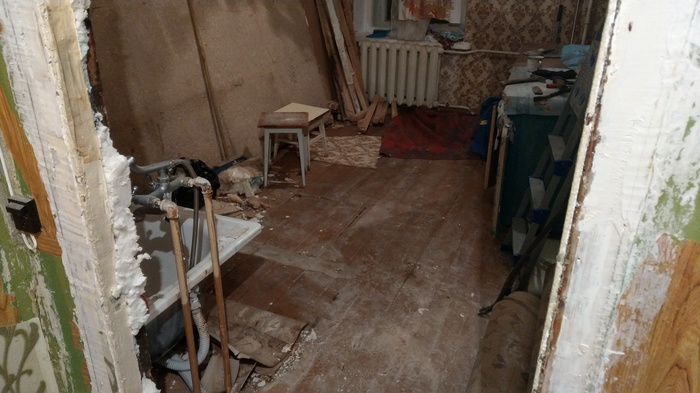 Ремонт в старой квартире ч.1 Ремонт, Старый дом, Своими руками, Не строители, Длиннопост