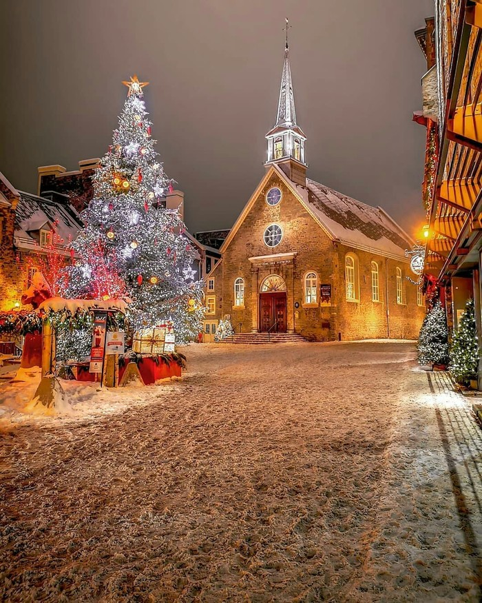 Новогодний Квебек, Канада