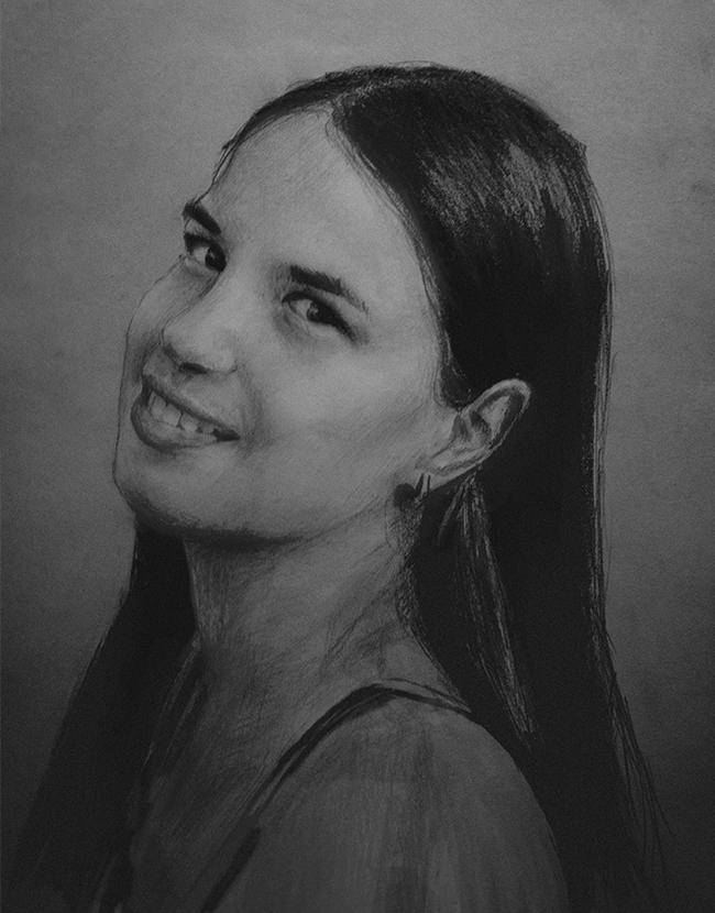 Портрет сестре