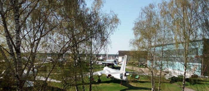 Фотографии музея ВВС в Монино. 2018 год. Монино, Музей, Музей ВВС в монино, Фотография, Самолет, Времена года, Год