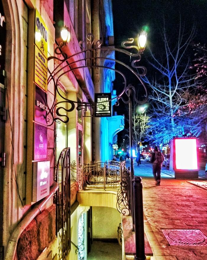 Краски ночи Ночь, Красноярск, Россия, Начинающий фотограф, Краски