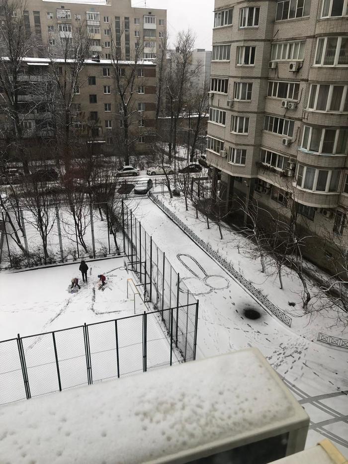 Шикарный НГ в Ростове Зима, Снег, Яйца