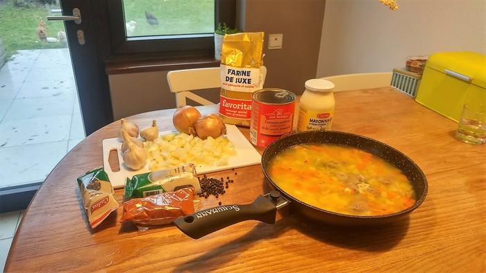 Мемная кухня: новогодний ух бл* Рецепт, Новый год, Поздравление, Батин суп, Суп, Майонез, Длиннопост, Мы Пикабу, Мат