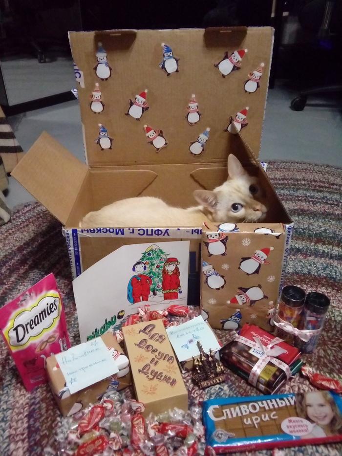 Обмен подарками Москва - Верхняя Пышма Обмен подарками, Новый Год, Тайный Санта, Длиннопост, Отчет по обмену подарками