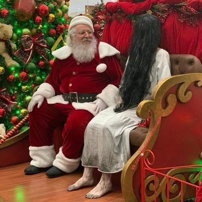 Санта, а можно мне на новый год телевизор побольше и поудобнее?