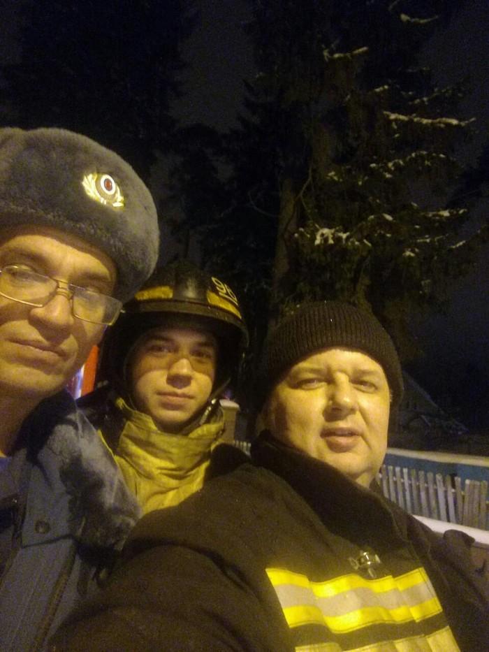 Работа в НГ. Пожарные, Работа, Семья, Спасибо, Длиннопост, Дети
