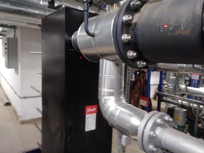 Теплоизоляция трубопроводов Работа, Теплоизоляция, Металл, Длиннопост