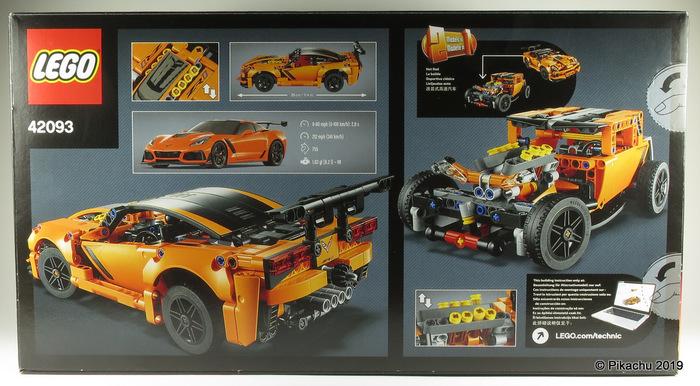 Обзор набора LEGO Chevrolet Corvette ZR1 (42093) Обзор, LEGO, 42093, Пикачу, Chevrolet Corvette ZR1, Длиннопост