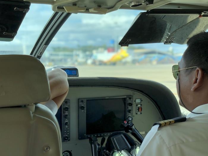 Маршрутка по-филиппински. Полет, Самолет, Пилот, Филиппины, Путешествия, Длиннопост