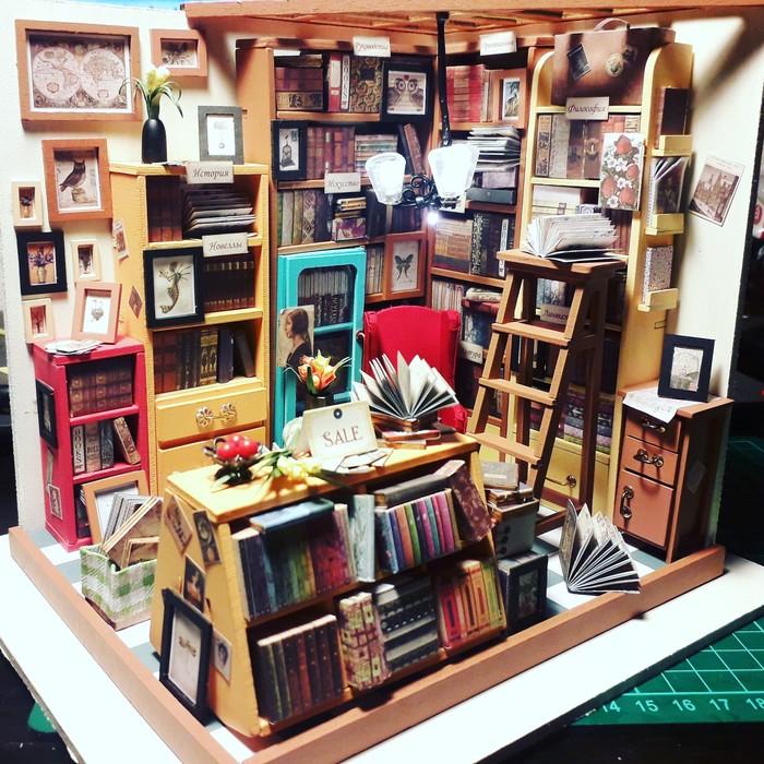Моя первая моделька:) Моделизм, Новый Год, Подарок, Библиотека, Рукоделие, Рукоделие без процесса, Мастурбация