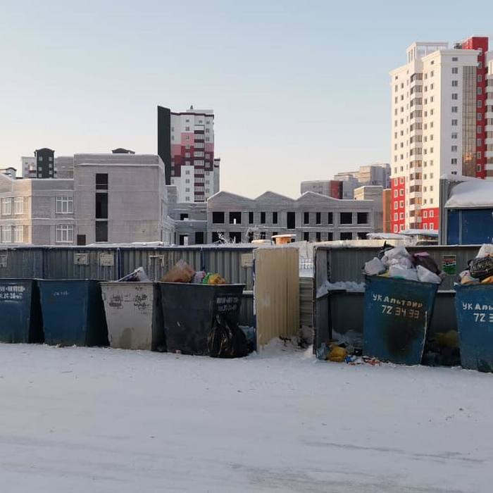 Мэр Якутска проверила вывоз мусора Якутск, Мэр якутска, Сардана Авксентьева, Мусор, 2019, Фотография, Политика, Длиннопост