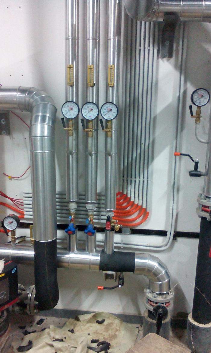 Теплоизоляция трубопроводов ч. 15 Ручная работа, Строительство, Теплоизоляция, Металл, Металлообработка, Работа на станках, Длиннопост