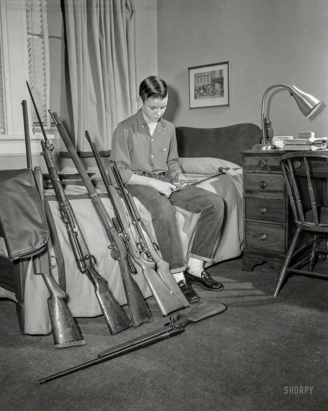 Семейный арсенал, Колумбус, округ Маскоги, штат Джорджия, 1959 год.