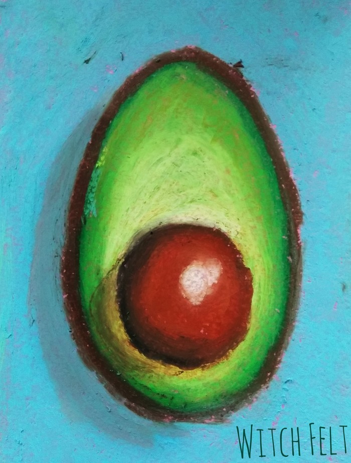 Просто авокадо с: