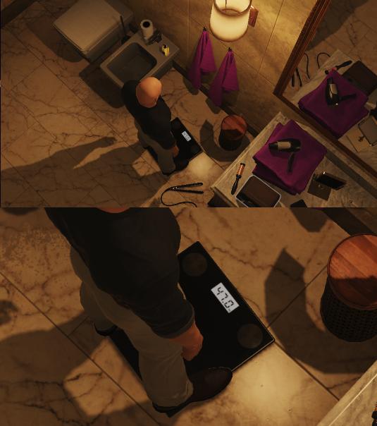 Hitman 2 - секрет бесшумности в чем-то другом Hitman, Hitman 2, Пасхалка, Игры, Вес, Скриншот
