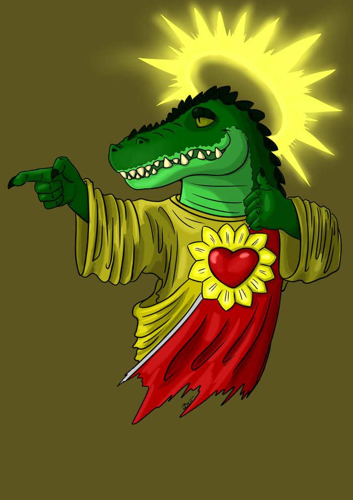 Крокодил №1