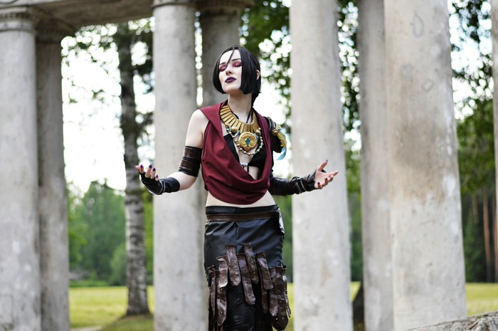 Morrigan cosplay by AndraSkela Морриган, Dragon Age, Косплей, Русский косплей, Длиннопост