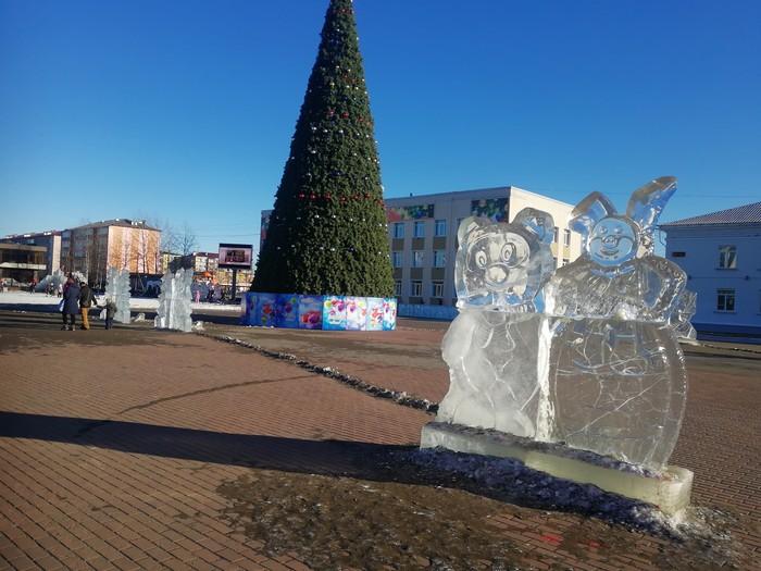 Где же снег? Сахалин, Зима, Новогодняя елка