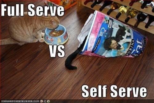 Обслуживание и самообслуживание