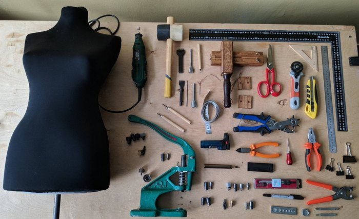 Инструмент кожевника Кожа, Кожа натуральная, Инструменты, Инструмент для кожи