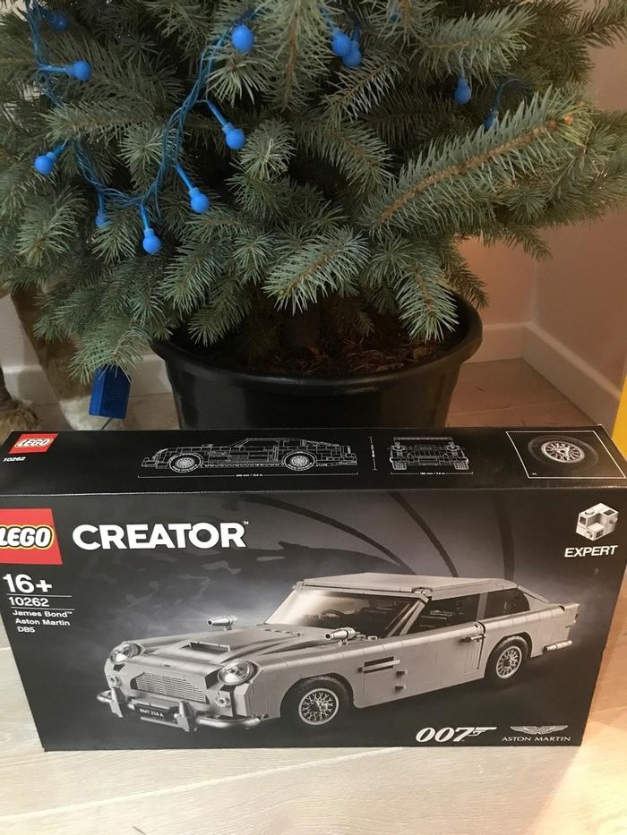 Lego Aston Martin 007. Когда подарок идеален LEGO, Aston Martin, Джеймс Бонд, Длиннопост, Конструктор
