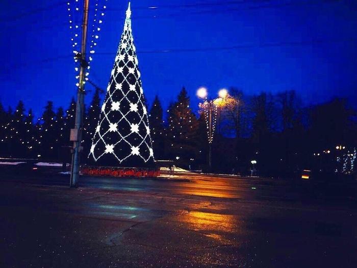 Новогодние Чебоксары Чебоксары, Новый Год, Новогодняя елка, Длиннопост