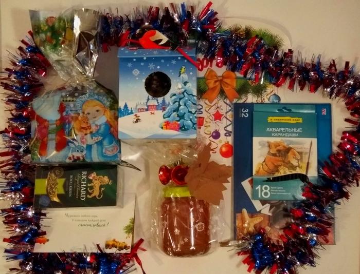Тайный Санта: Оренбург - Питер Оренбург, Санкт-Петербург, Тайный Санта, Отчет по обмену подарками, Обмен подарками, Подарок, Новый Год, Длиннопост