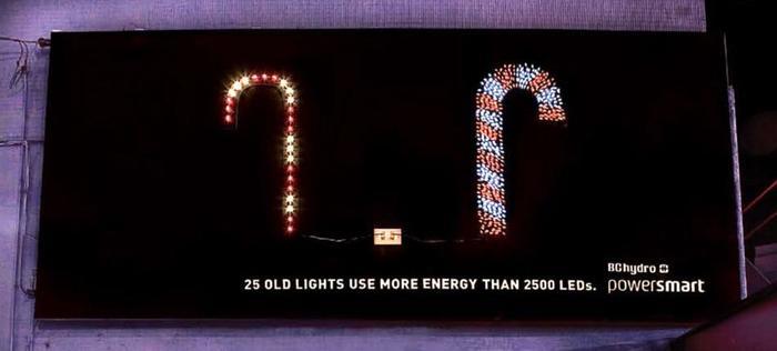 LED агитация Экология, Технологии, LED, Светодиоды, Экосфера, Канада, Реклама, Экономия