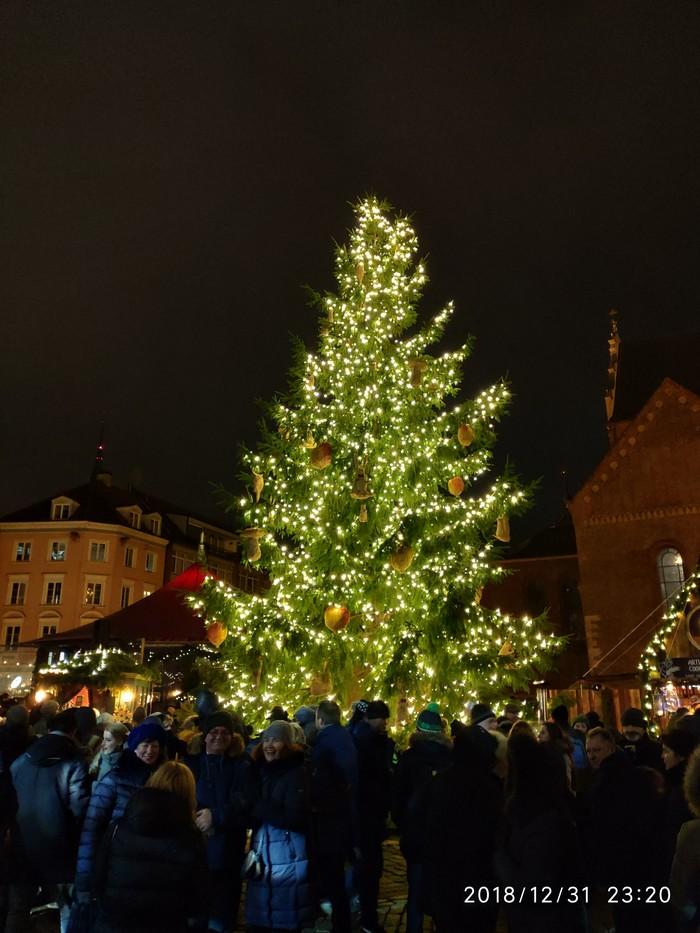 Новый год в Риге и Вильнюсе Путешествие в Европу, Длиннопост, Фотография, Рига, Вильнюс