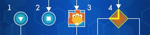 Алгоритм. Путешествие внутри программы Игры, Логические головоломки, Gamedev, Игра на Unity3d, Android, Длиннопост