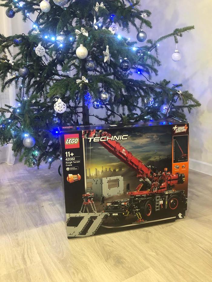 Закончили собирать подарок LEGO, LEGO technic, Подарок, Конструктор, Длиннопост