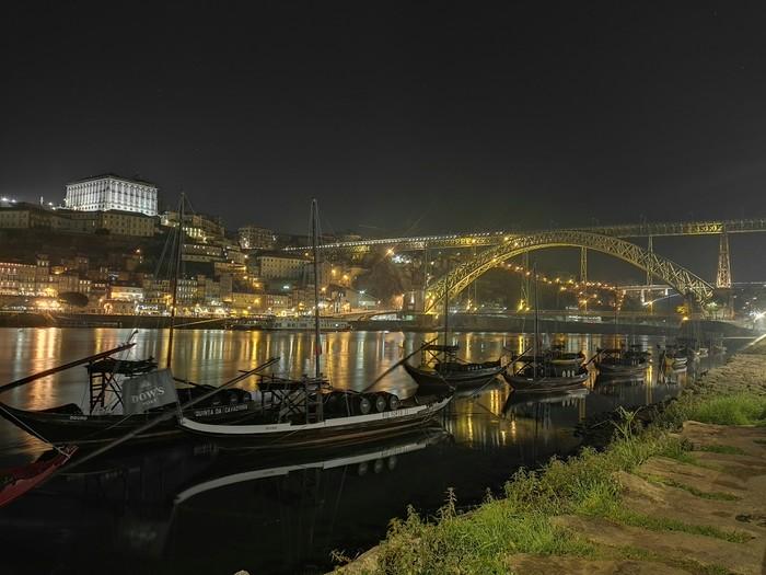 Ночной Порту, Португалия. Порту, Португалия, Длиннопост