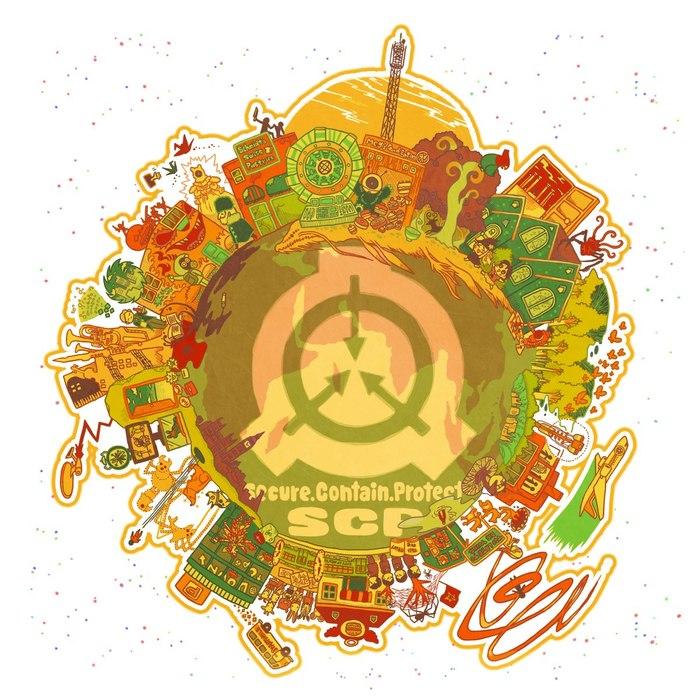 Арты по Фонду SCP отSINSEKAI20130227 SCP, SCP Art, Арт, Длиннопост