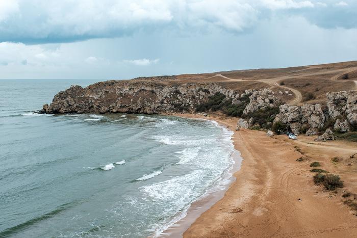 Весь Крым за отпуск  [часть 2] «Генеральские пляжи» Крым, Керчь, Генеральские пляжи, Велосипед, Путешествия, Длиннопост