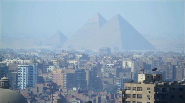 Окраина Каира Каир, Пирамида, Египет