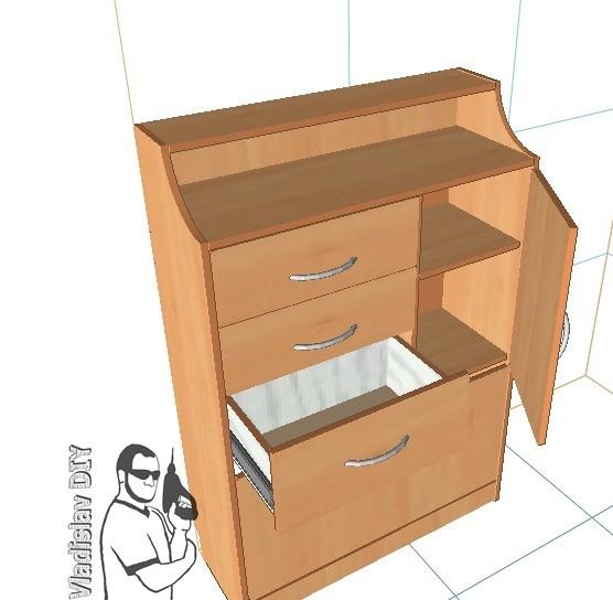 Комод-обувница в прихожую из массива своими руками Мебель, Мебель из массива, Мебель свомими руками, Своими руками, Рукоделие с процессом, Рукоделие, Длиннопост