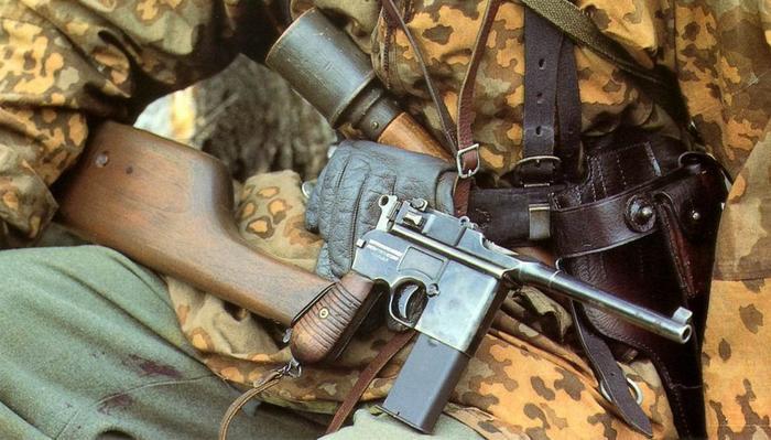 Пистолет? Карабин? О пистолетах с прикладом-кобурой. Пистолеты, Приклад, Стрелковое оружие, Редкое и необычное оружие, Длиннопост