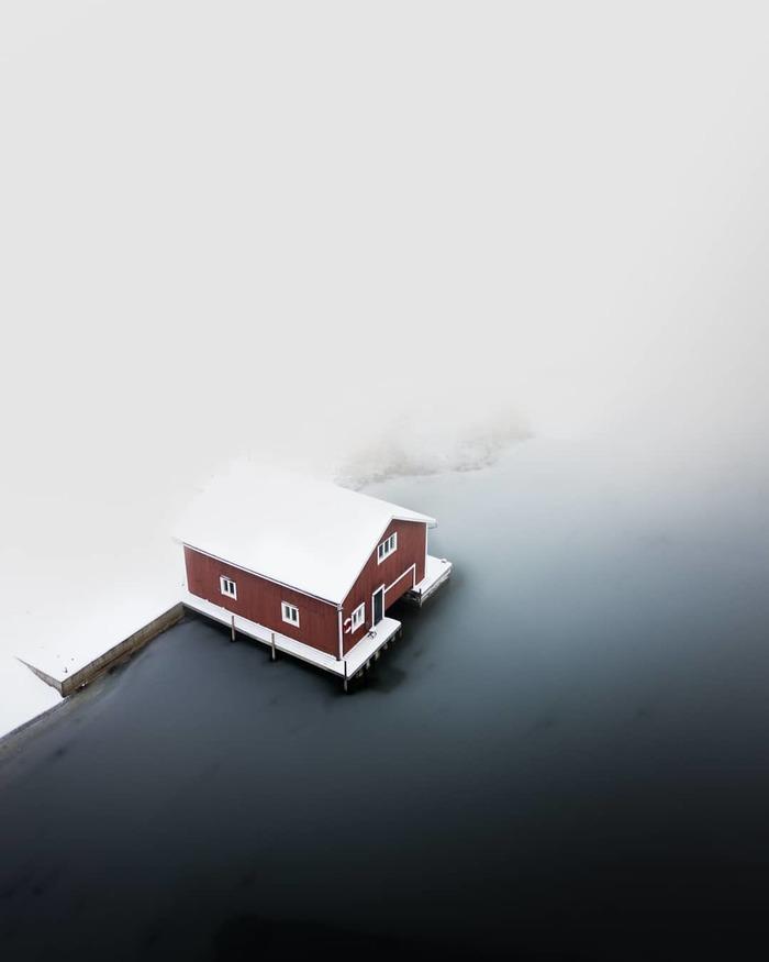 Прекрасная Швеция сверху: фотографии беспилотника Вигго Лундберга Аэросъемка, Швеция, Фотография, Длиннопост, Пейзаж, Из сети
