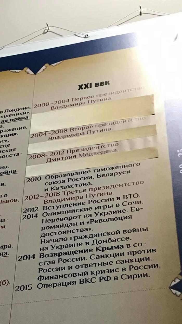 В историческом павильоне на ВДНХ зачем-то заклеили даты, связанные с крупными трагедиями Вднх, История, Россия, Норд-Ост, АПЛ Курск, Беслан, Длиннопост
