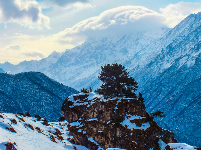 Ингушетия, Джейрахский район. Ингушетия, Альпинизм, Фотография, Горы, Длиннопост