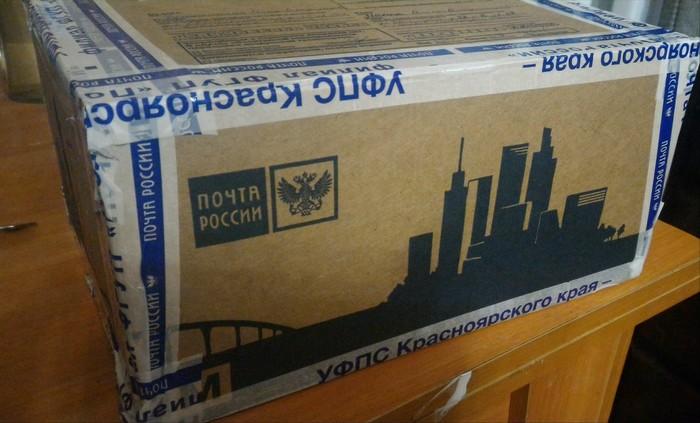 Получила посылочки!!! Подарок, Отчет, Спасибо, Посылка, Длиннопост, Обмен подарками, Отчет по обмену подарками