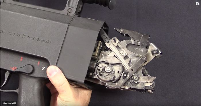Разборка H&K G11, реально часы с кукушкой Оружие, Интересное, Видео, Длиннопост