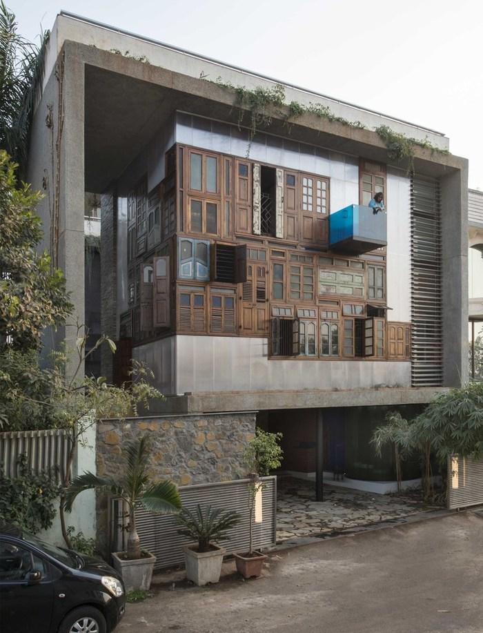 Дом Плюшкина Строительство, Дом, Архитектура, Фотография, Индия